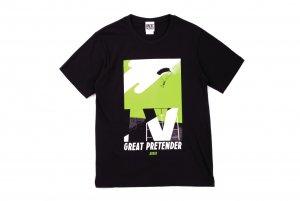 【GREAT PRETENDER】グラフィックアートTシャツ 「アビー」
