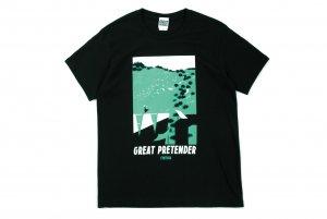【GREAT PRETENDER】グラフィックアートTシャツ 「シンシア」