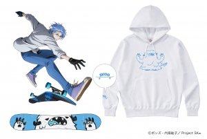 TVアニメ【SK∞ エスケーエイト】ビッグシルエットパーカー 馳河 ランガ Edition