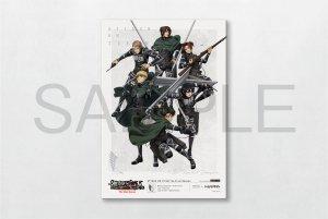 進撃の巨人 The Final Season  MAPPA Premium Canvas Art TYPE-B P3サイズ