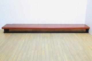 アンティーク 台 陳列台 展示台 上がり框/送料別Jサイズ/昭和中期/品番K891
