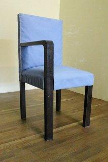レトロな雰囲気の片肘付き椅子 古録展  送料別 Gサイズ 中古 品番I6043