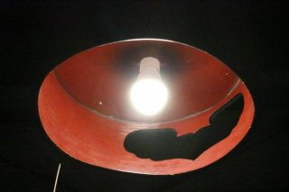 古民具をリメイクした電笠セット 古録展  送料別  A  サイズ 中古 品番D3895