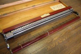 昭和レトロなリズム編み機 昭和29年 アウトレット 実働未確認品 古録展  送料別    Eサイズ 中古 品番K13904