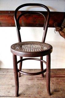 戦前の秋田木工曲げ椅子 座面解れ有 椅子というよりディスプレィに 税込・送料別 Fサイズ 古録展 202011011