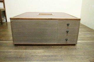 珍品囲み火鉢 ローテーブル 総桐製 枠は桑材 昭和後期  古録展  送料別  Hサイズ 中古 品番K1525