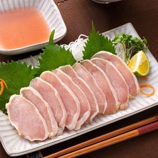 【まるで生食感】富山名物 鶏の昆布締め