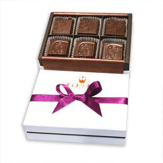 6個セット黒糖キャラメル <br> ガーナミルクチョコレート40%