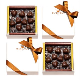 黒糖キャラメル 80g<br> ビターチョコ64%