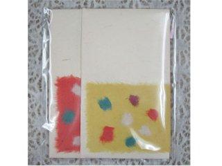 月桃手作りポチ袋 [水玉]