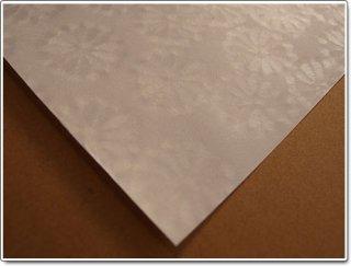 菊花紙ー白