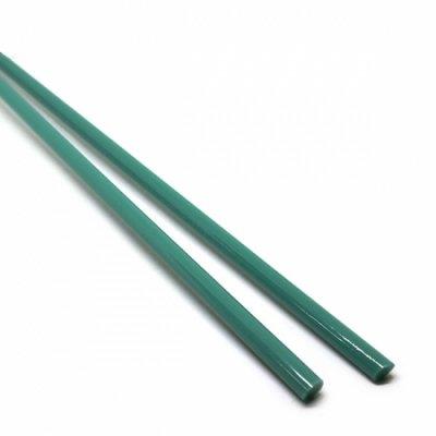 《店舗生徒価格》【C11-g】ガラスロッド(青緑アルカリシリケートガラス)100g
