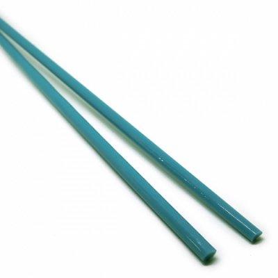 《店舗生徒価格》【C13-b】ガラスロッド(青緑アルカリシリケートガラス)100g