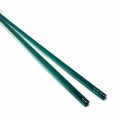 《店舗生徒価格》【C27-g】ガラスロッド(クリア緑アルカリシリケートガラス)100g