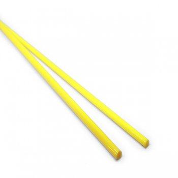 《店舗生徒価格》【C37-y】ガラスロッド(黄色アルカリシリケートガラス)100g