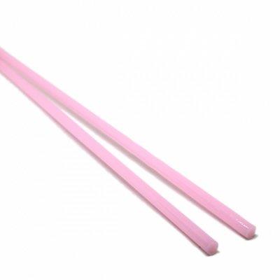 【CS2-p3】ガラスロッド(ピンクアルカリシリケートガラス)100g