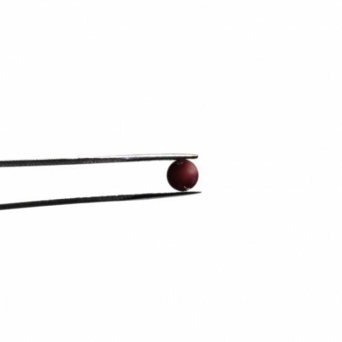 【CS7-m2】ガラスロッド(クリア濃赤紫アルカリシリケートガラス)100g