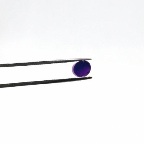 【CS8-m2】ガラスロッド(クリア濃紫アルカリシリケートガラス)100g