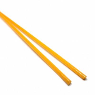 【CS14-o1】ガラスロッド(オレンジアルカリシリケートガラス)100g