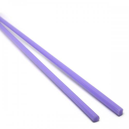 【CX92】ガラスロッド(薄紫アルカリシリケートガラス)100g