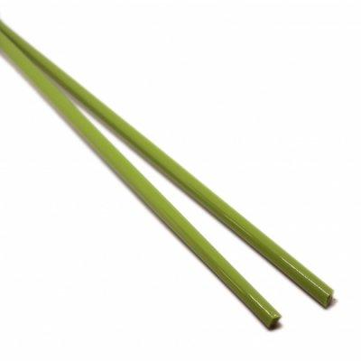 【CX110】ガラスロッド(緑(抹茶)アルカリシリケートガラス)100g