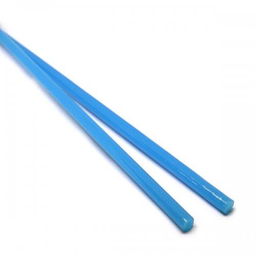 《特別価格》【CX130】ガラスロッド(乳白青アルカリシリケートガラス)100g
