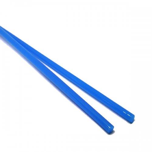《特別価格》【CX131】ガラスロッド(乳白青アルカリシリケートガラス)100g