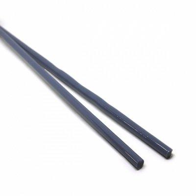 《特別価格》【CX143】ガラスロッド(青灰アルカリシリケートガラス)100g