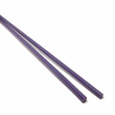 《特別価格》【CX156】ガラスロッド(乳白紫アルカリシリケートガラス)100g