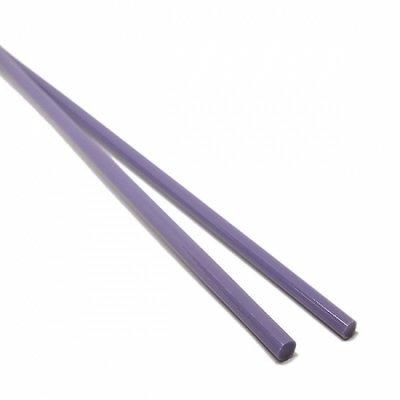 【CX158】ガラスロッド(薄灰紫アルカリシリケートガラス)100g