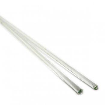《特別価格》【A11】ガラスロッド(無色透明クリスタル(鉛)ガラス)100g