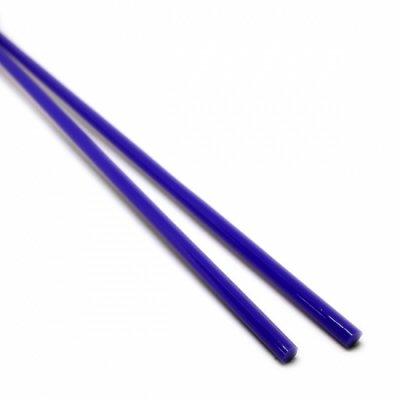 《特別価格》【A20】ガラスロッド(青クリスタル(鉛)ガラス)100g