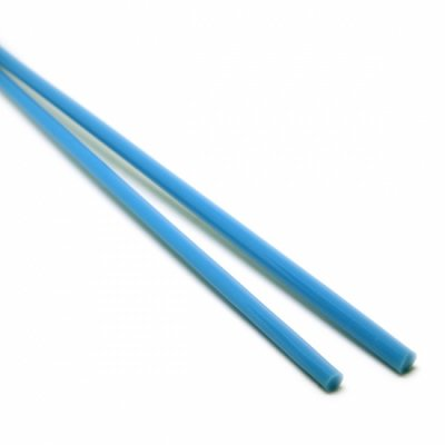 《特別価格》【A31】ガラスロッド(青クリスタル(鉛)ガラス)100g