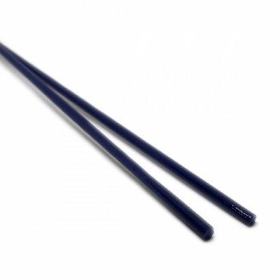 《特別価格》【A32】ガラスロッド(紺クリスタル(鉛)ガラス)100g