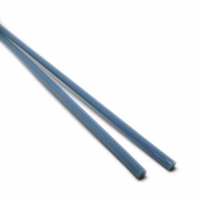 《特別価格》【A54】ガラスロッド(乳白青クリスタル(鉛)ガラス)100g