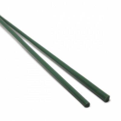 【A77】ガラスロッド(濃緑クリスタル(鉛)ガラス)100g