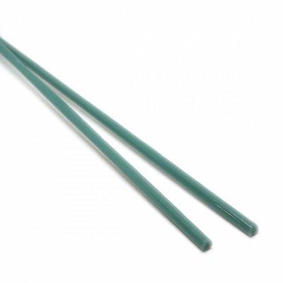 《廃番》【A112】ガラスロッド(乳白青緑クリスタル(鉛)ガラス)100g