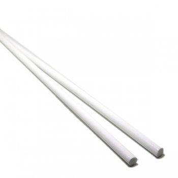 ハーフサイズ【CS1-w1】ガラスロッド(濃白アルカリシリケートガラス)100g