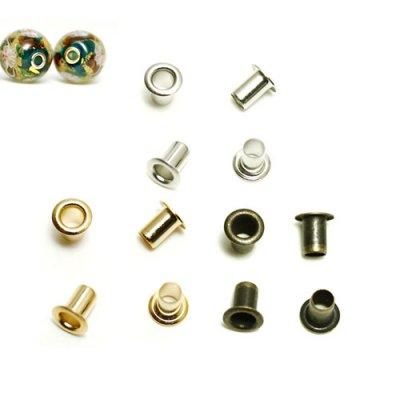 ビーズキャップ beadcap 3mm(2.5mm芯用)4個