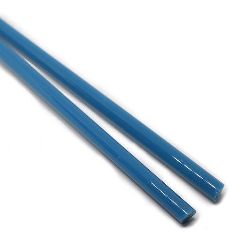 【AKC135】ガラスロッド(青系クリスタル(鉛)ガラス)100g