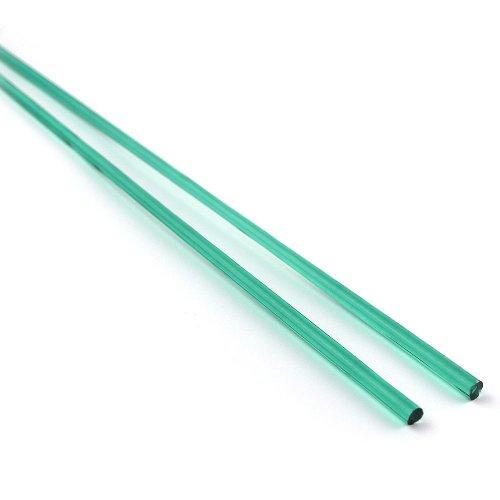 《店舗生徒価格》【CX183】ガラスロッド(透明緑アルカリシリケートガラス)100g