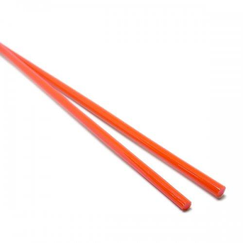 ハーフサイズ【B7】ガラスロッド(赤ソーダガラス)100g