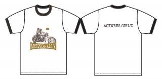 新井みずか・Tシャツ_GOLD logo