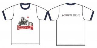 新井みずか・Tシャツ_RED logo