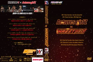 Actwresgirl'Z  in  WRESTLE-1・DVD