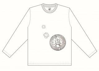 清水ひかり・長袖Tシャツ_白