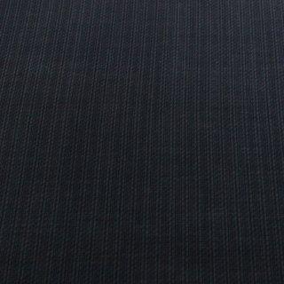 尾州ウール 国産 ウール生地  黒 50cm〜 薄手 ストライプ 生地 ウールニット ハンドメイド 50cm〜