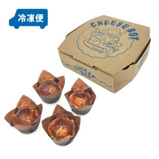 【冷凍便発送】バスクスタイルチーズケーキ 4個