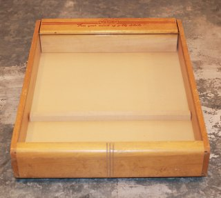 VINTAGE NASCON PRODUCTS STORE DISPLAY CASE