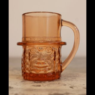 VINTAGE Mr.PEANUT GLASS CUP 1960's�